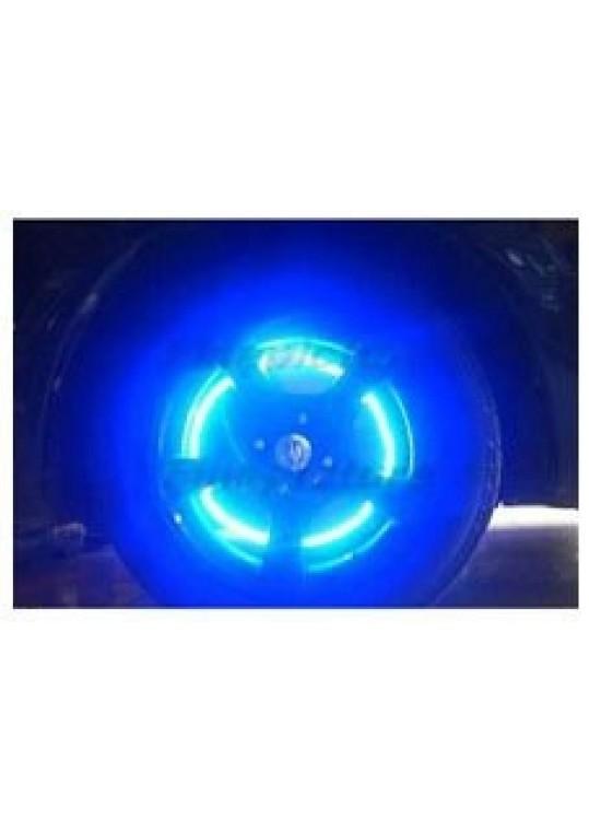Valve Cap Tyre Wheel LED Light